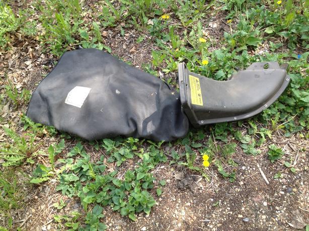 new Lawnmower side bag