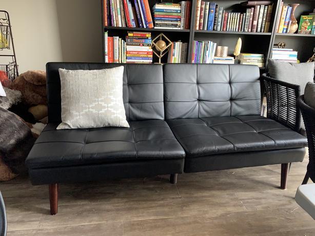 Excellent Wayfair Leather Couch West Shore Langford Colwood Machost Co Dining Chair Design Ideas Machostcouk