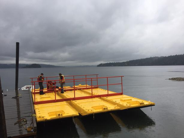 Sectional Barge 36 ft X 24 ft