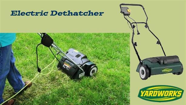 Dethatcher ~ Electric