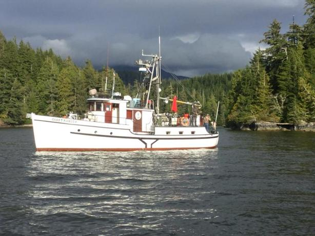 Trawler Forestry Boat