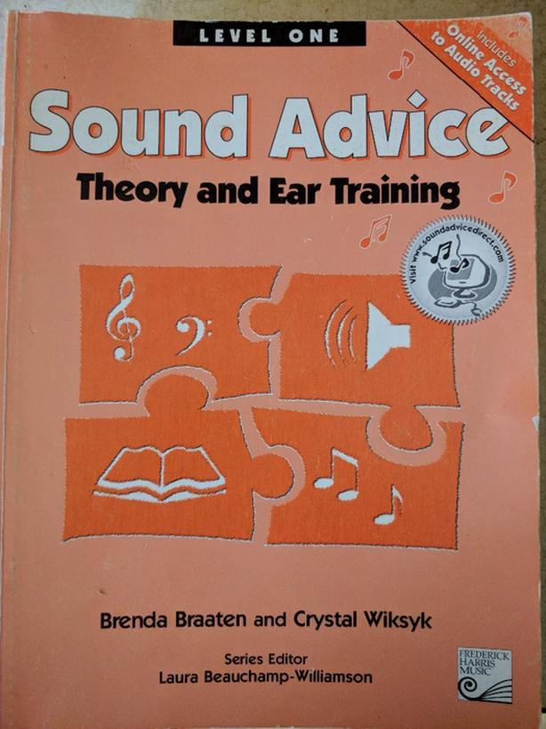 Sound Advice Theory and Ear training 8 levels by
