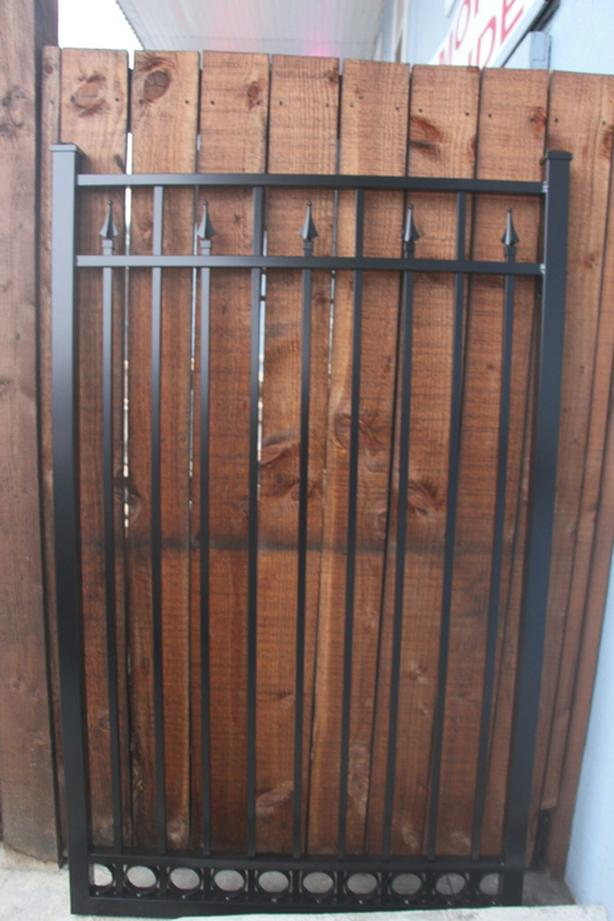 Aluminum  Gates 10ft   12ft16ft in stock  6 and 7 ft tall