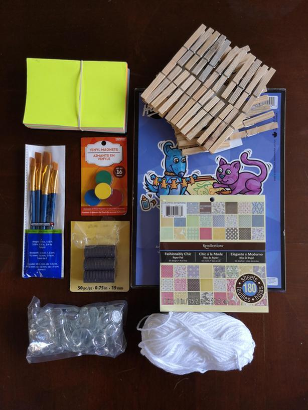 Misc. craft supplies