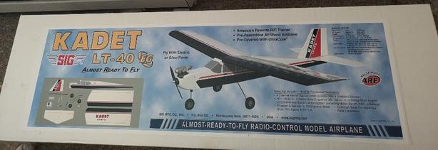 Kadet Model Airplane ARF [New In Box]