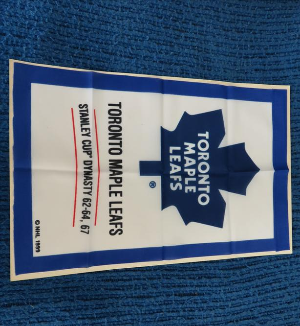MINT CONDITION TORONTO MAPLE LEAFS DYNASTY BANNER