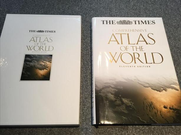 The Times Comprehensive Atlas of the World, 11th ed.