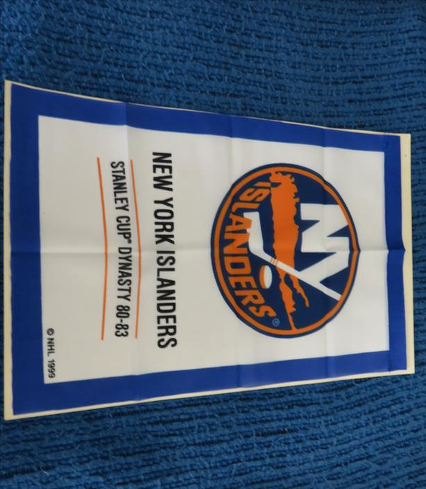 MINT CONDITION NEW YORK ISLANDERS DYNASTY BANNER
