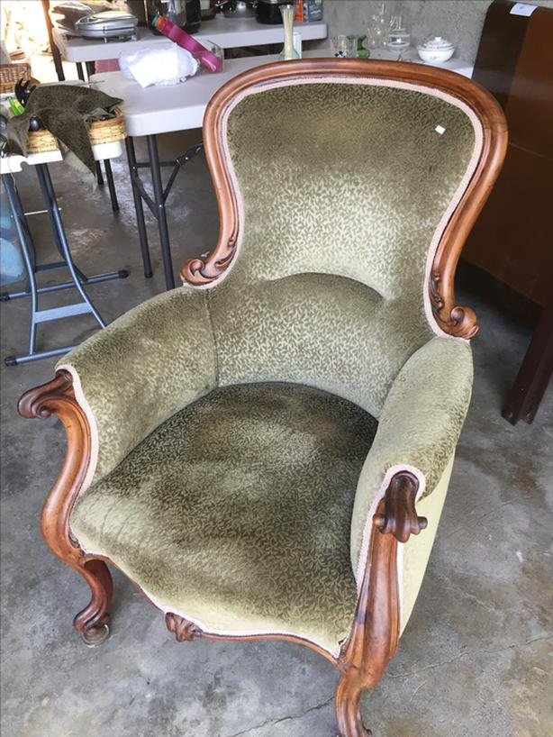 Victorian easy chair
