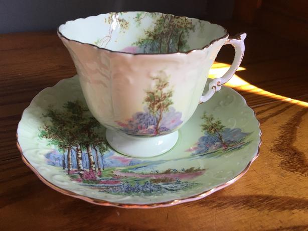 Log In needed $1,234 · Assorted china vintage tea cups, plates and  servingware