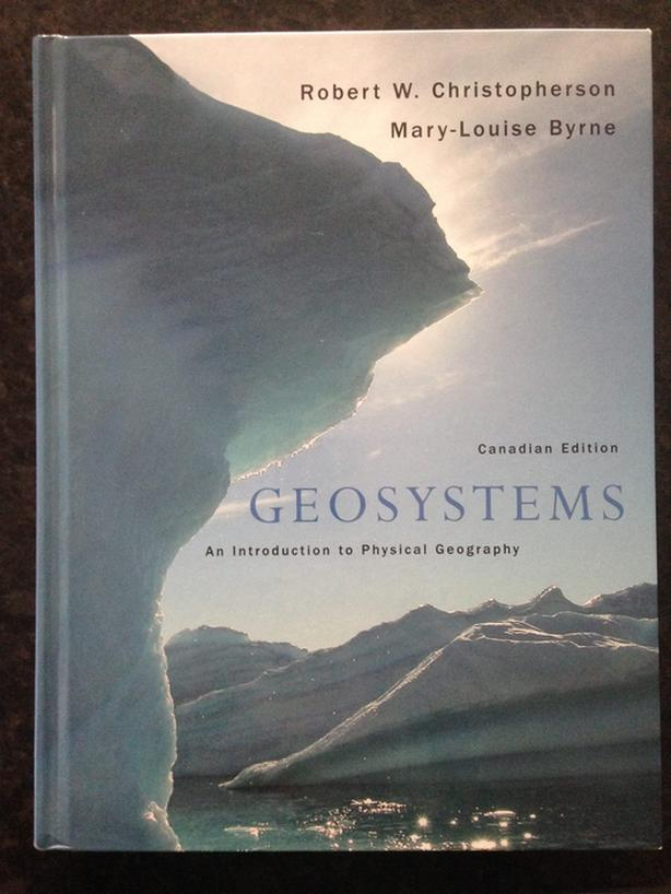 Geosystems new book