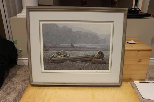 Old Whaling Base Artist Proof by Robert Bateman