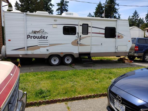  Log In needed $7,000 · 004 28' Fleetwood Prowler Travel Trailer