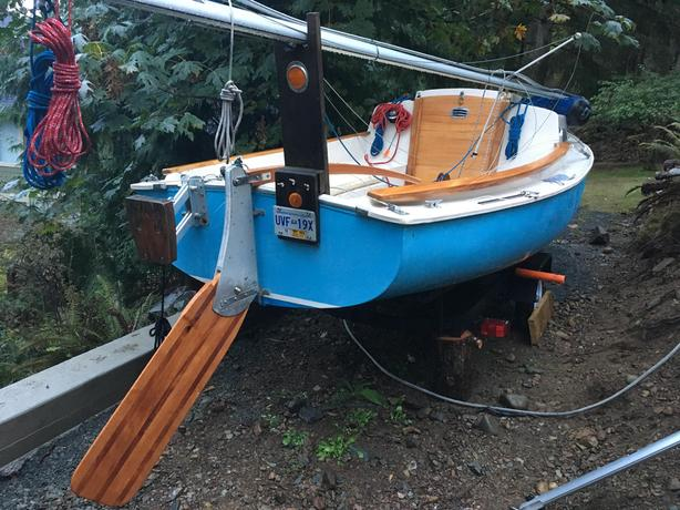 Rhodes – 1968 Oday Mariner 2+2 with Trailer