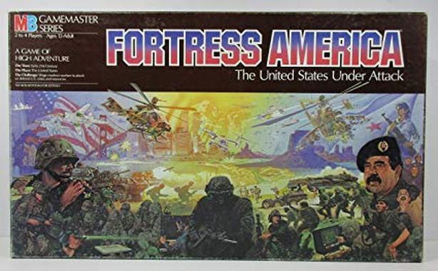 Rare Fortress America board game