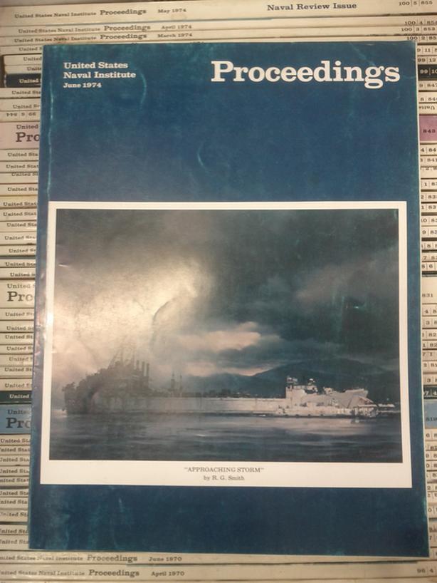 Proceedings, United States Naval Institute