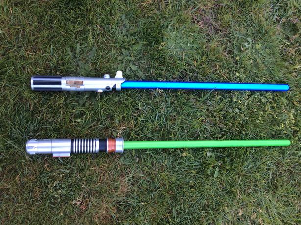 Disney Lightsabers (Anakin & Luke Skywalker)