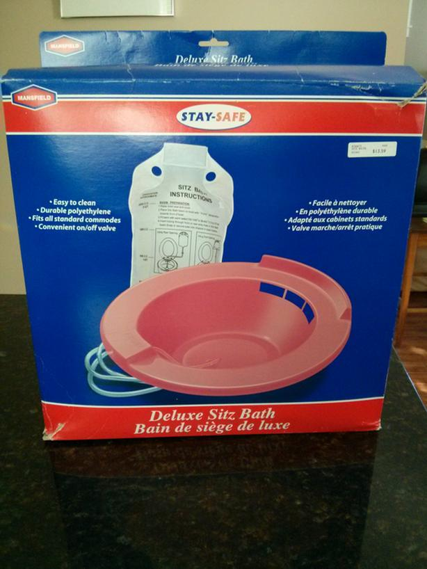 STAY-SAFE DELUXE SITZ BATH West Shore: Langford,Colwood