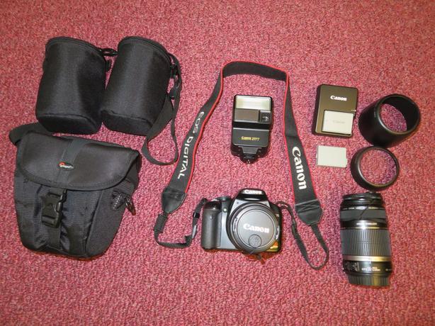 Canon EOS Rebel XSi DSLR camera kit Esquimalt & View Royal
