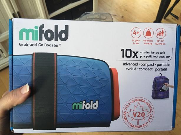 MiFold Booster Seat-new in box