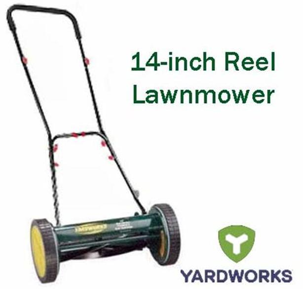 Reel Lawnmower ~ Yardworks
