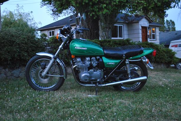  Log In needed $3,800 · 1977 Kawasaki KZ 650