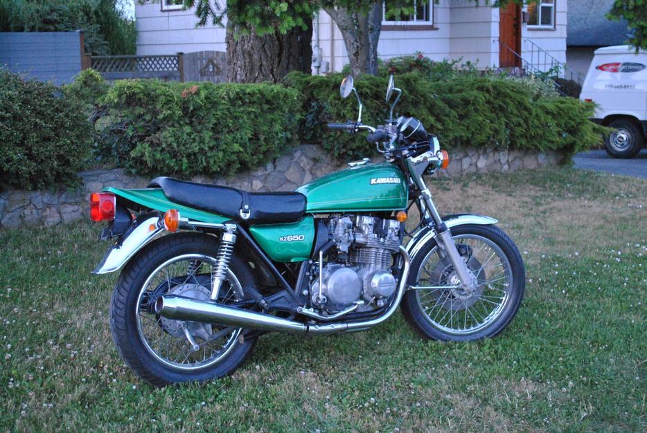 $3,800 · 1977 Kawasaki KZ 650