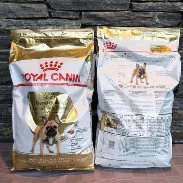 Brand New Royal Canon French Bulldog Food 17lb bags