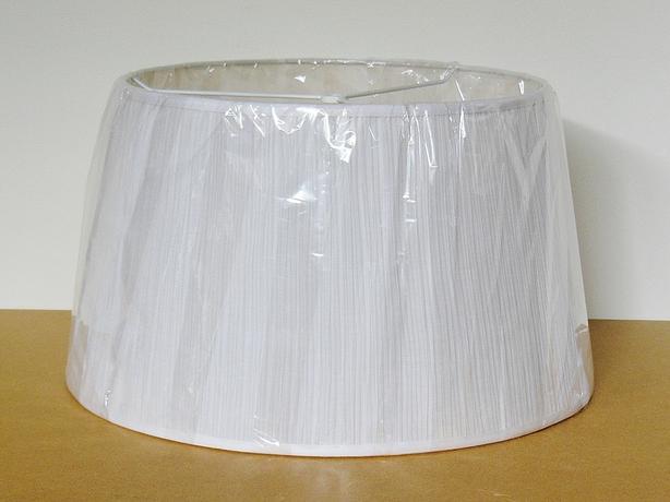 """Fabric Lamp Shade - 19"""" - White"""