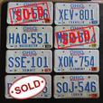 Ohio License Plates - 1990s  [Royal Oak]