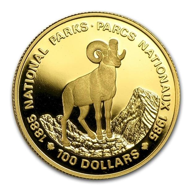 Canada $100 National Parks coin