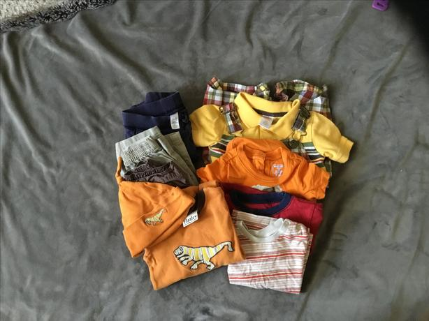 Boys Clothing  10 pcs - Size 6-9M, 6-12M
