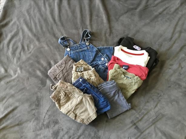 Boys Clothing 11PCs - size 12M, 1 year
