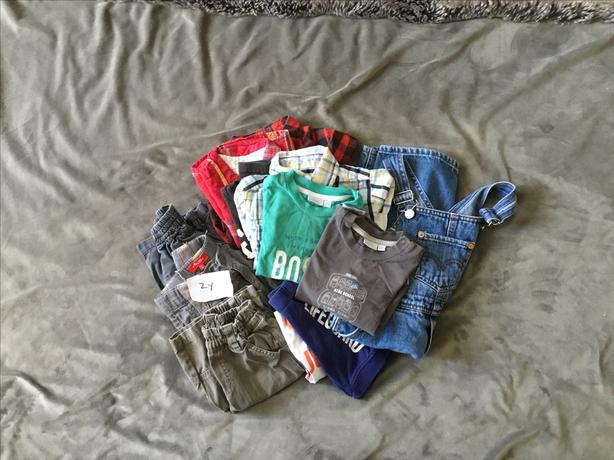Boys Clothing 12 pcs - Size 2 years