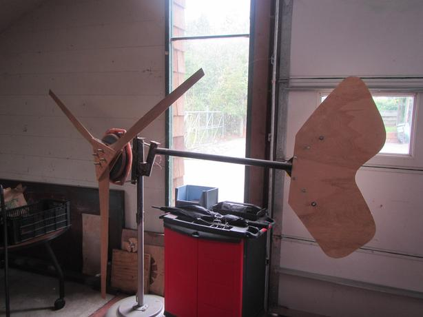 1kw wind turbine. hugh piggott design