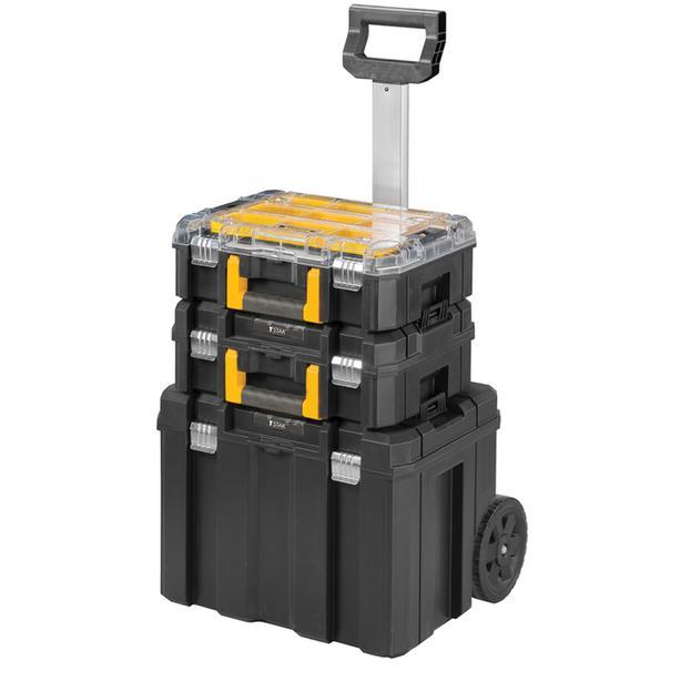 Stanley FatMax TSTAK 3pc Modular Rolling Tool Storage Box Set