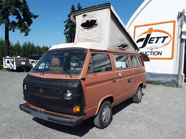 1980 Volkswagen Vanagon Westfalia Selling at Auction! Outside