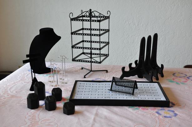 Assorted Jewellery Displays
