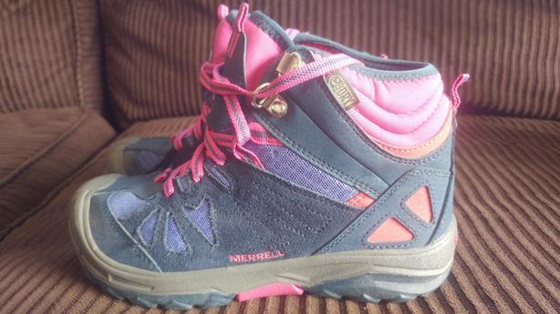 Merrell kids hikers