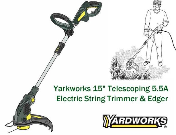 "String Trimmer ~ 15"" dual-line"