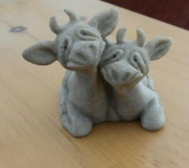 Collectible Quarry Critters-Cherry & Chip
