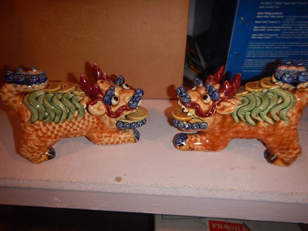 Taiwanese Ceramic Dogs