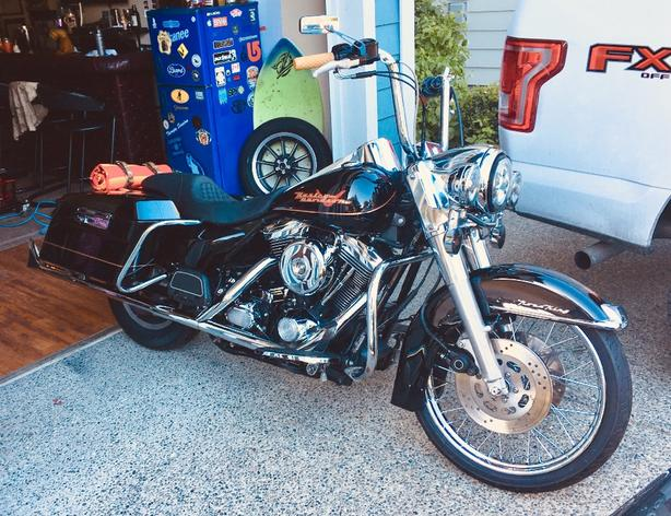 FOR TRADE: 97 Road King for hot rod/ muscle car