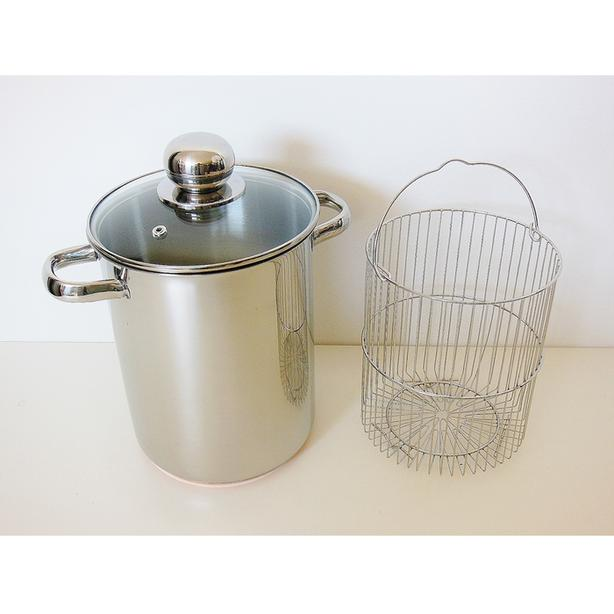ROSCAN CORLINI 3pc Steamer Set w/ Copper Bottom - 4.2L / 4.5qt