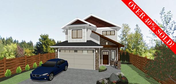 New 4 Bedroom Homes on the Saanich Peninsula!
