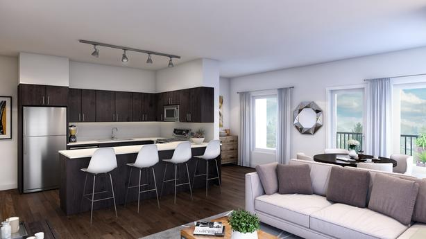 Top Floor 1 Bed/1 Bath Luxury Rental Suite - Now Renting