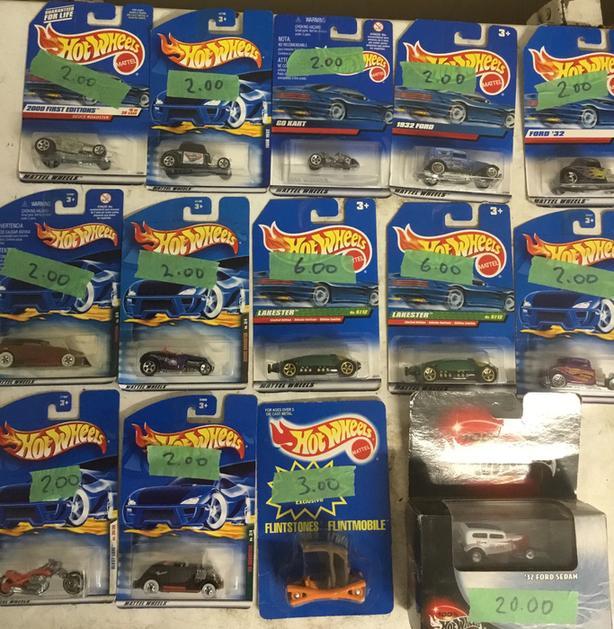 Hot Wheels Johnny Lightning Matchbox McDonald's collectibles