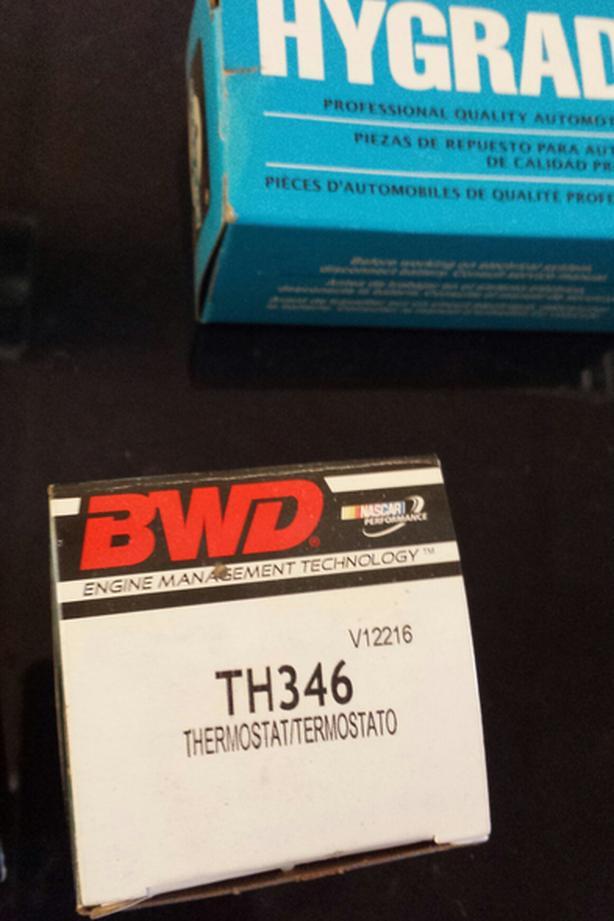 New electric choke springs BWD