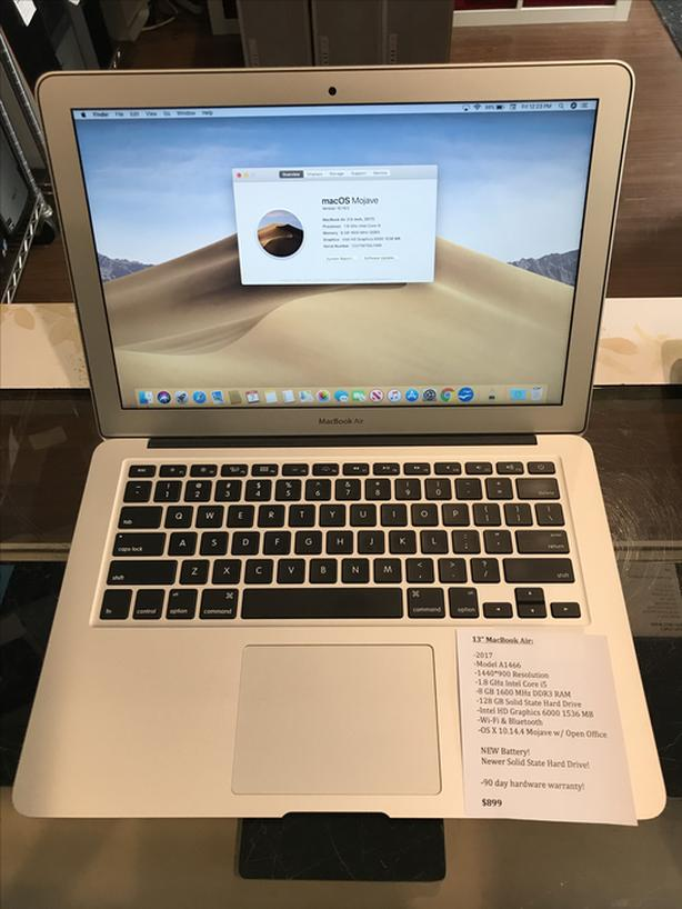 "13"" MacBook Air 1.8GHz Intel Core i5 8GB RAM 128GB SSD w/ Warranty!"