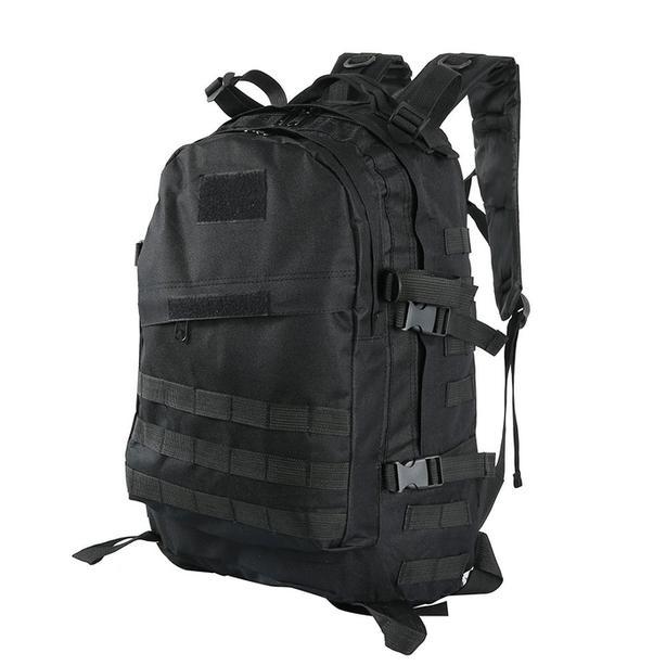Tactical Military Molle Utility Rucksack Backpack Bag 45L - Black